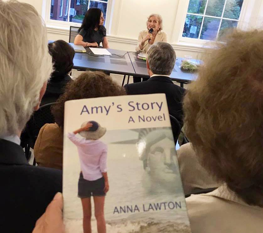 The story behind Amy's Story. An interview with Anna Lawton
